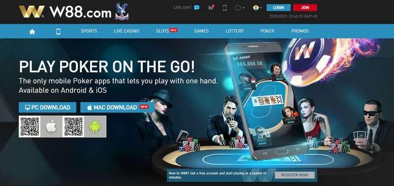 Application for W88 Desktop and Mobile - Poker Desktop