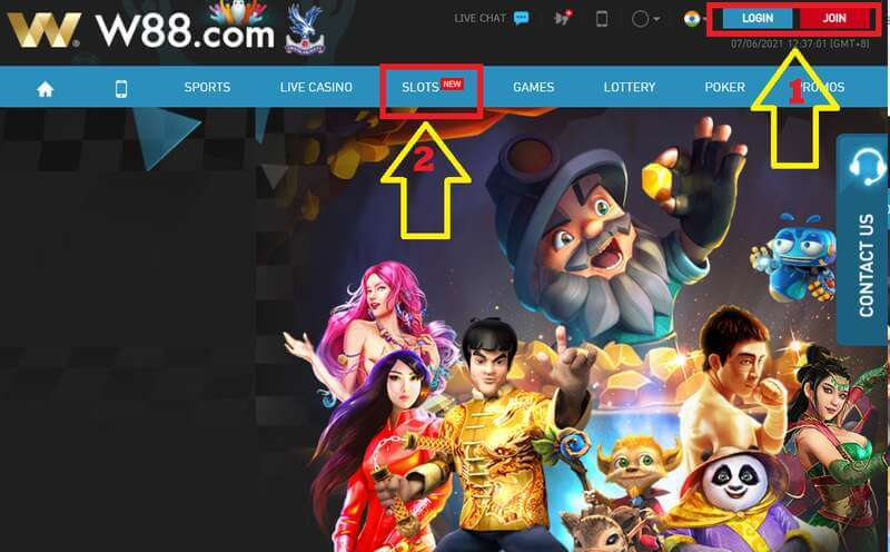 How to Play Slot in W88 and Earn Big