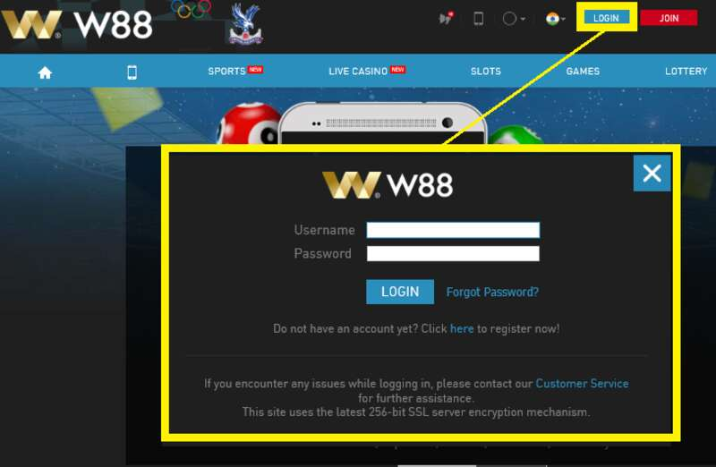 No Hassle W88Login Experience