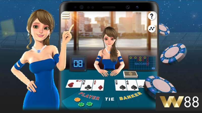 Play with W88 Baccarat App for Elevated Online Gambling