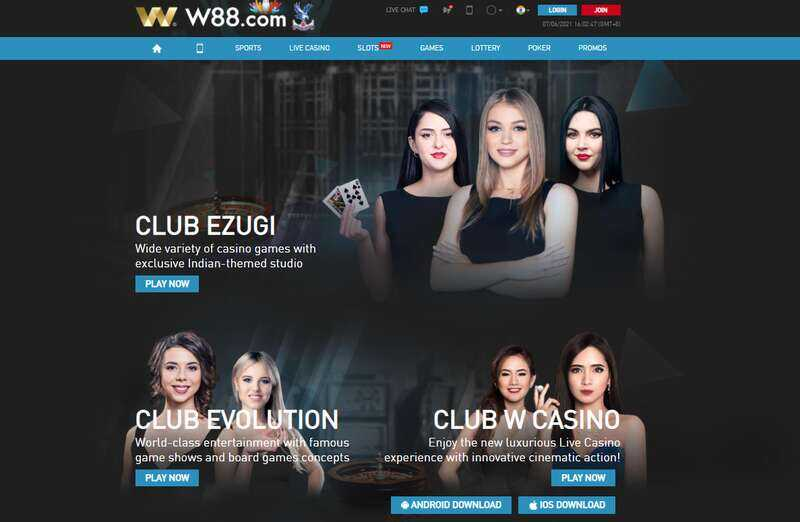 Get Club W88 App Download and Play the Best Online Betting Games in the World