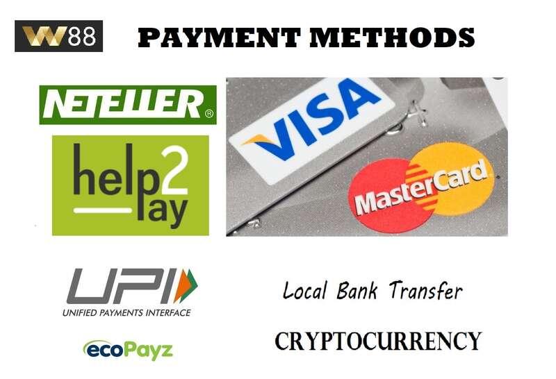 Enjoy Various W88 Deposit Bookie88 Payment Methods